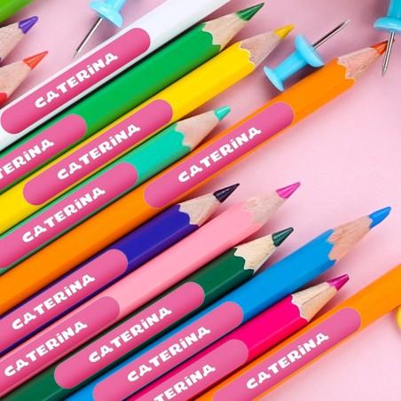 Etichette per matite