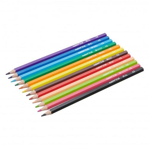Matite Colorate Scuola 12Kit